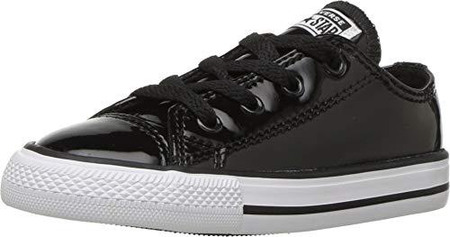 Converse Unisex Baby Chuck Taylor All Star Sneaker, Schwarz Black/White 001, 20 EU