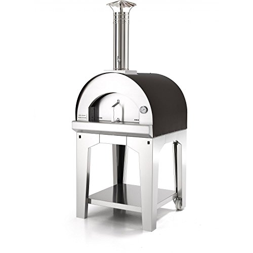 Fontana Forni Margherita Portable Outdoor Stainless Steel Pizza Oven