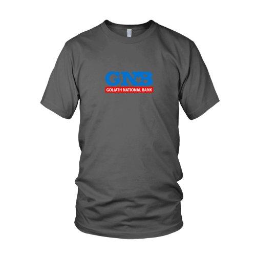HIMYM: Goliath National Bank - Herren T-Shirt, Größe: L, Farbe: (Playbook Kostüm)