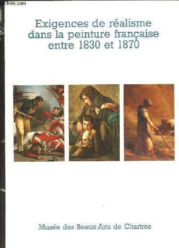 Exigences de réalisme dans la peinture française entre 1830 et 1870