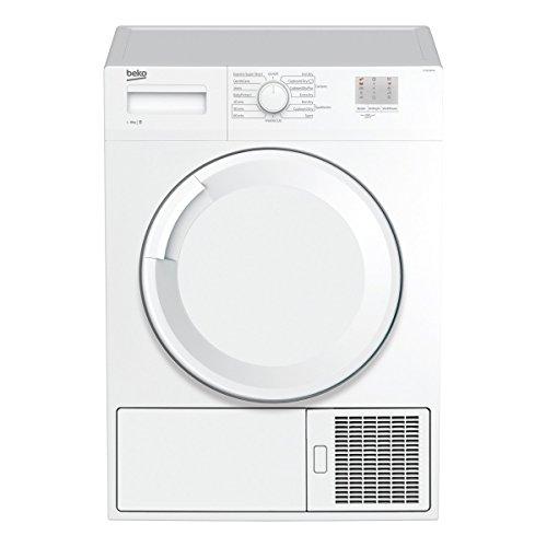 Beko DTGC8000W B Rated 8kg Sensor Condenser Tumble Dryer in White 2 Temps