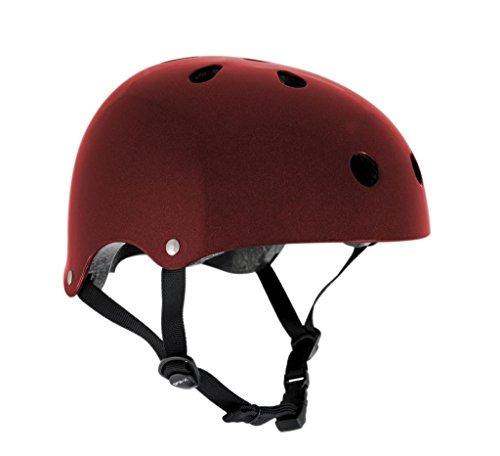 sfr-casque-planche-trottinette-vlo-bmx-rouge-mtallis-taille-l-xl-57-59cm