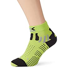 X-Socks effektor - Calcetines unisex, multicolor (green lime/black),