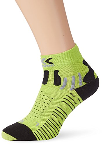 X-Socks Funktionssocken Effektor Running Shorts Man, Mehrfarbig (Green/Lime/Black), 35/38, S100010