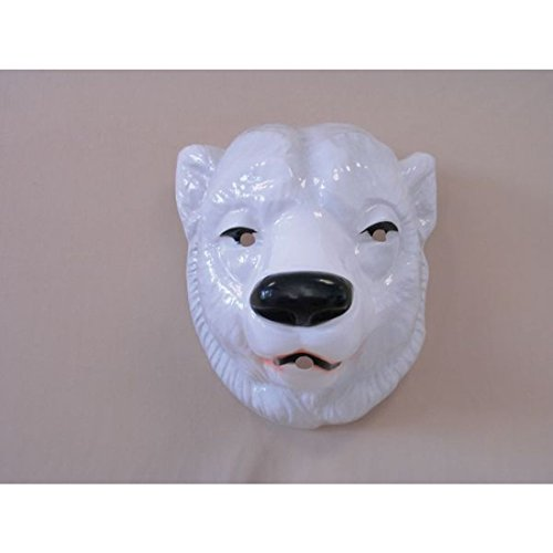 Eisbär Maske Tier Maske Bär Bärenmaske Eisbären Eishockey Fanartikel Bärmaske Eisbären Tiermaske