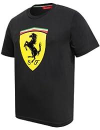 Ferrari para hombre negro clásico T-camiseta de manga corta 6fc3b270d5f