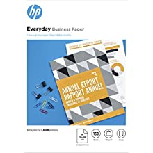 HP 7MV82A Laser Everyday Glossy Business Paper, A4, 120 gsm, 150 Sheets