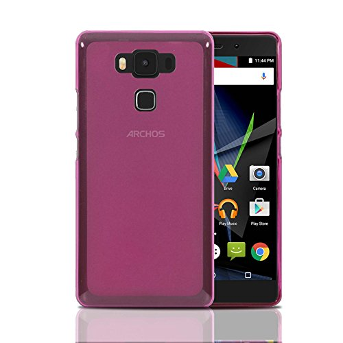 Archos Diamond 2 Plus Hülle, Ordica DE®, Diamond 2 Plus Case Gel Design Original Pink Zubehör TPU Silikon Dünn Cover