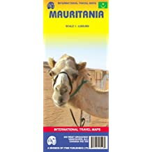 Internation Travel Maps : Mauritanie 1 / 2 000 000