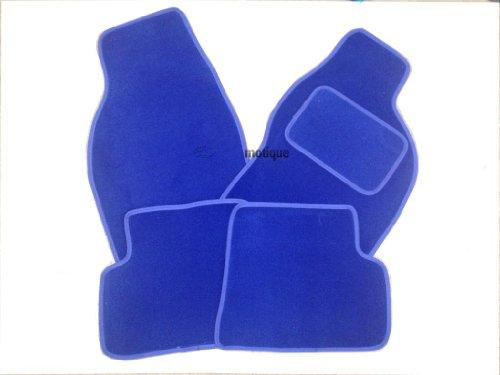 Preisvergleich Produktbild AUTOMOTIQ TOYOTA RAV4 XT2 (00-05) SONIC Blaue Fußmatten mit blauem Rand