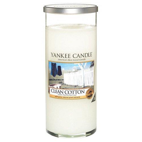 Yankee candle perfect pillar candela grande, clean cotton