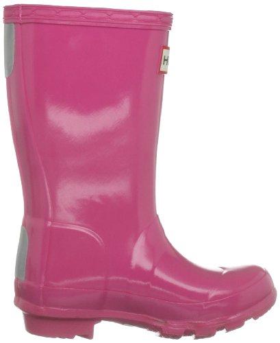 Hunter Original Kids Gloss, Bottes de pluie fille Rose brillant