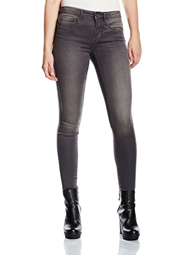 Only - Onlroyal Reg Sk Jeans Grey Pim900 Noos, Jeans Donna Grigio (Medium Grey Denim)