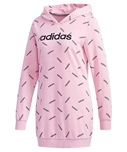 adidas Originals AOP Kapuzenpullover Damen Altrosa/schwarz, S