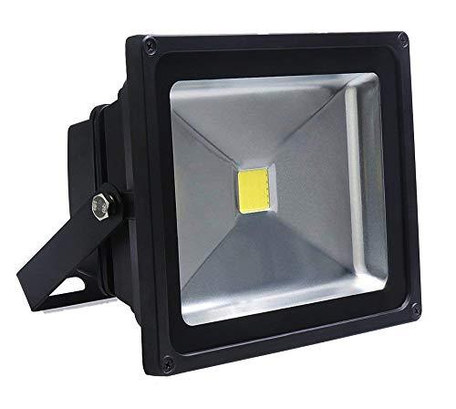Auralum® 30w LED Fluter Außenstrahler 2700Lumen 230V IP65 Weiß mit Top-Qalität Mitte-Jahr-Absatz