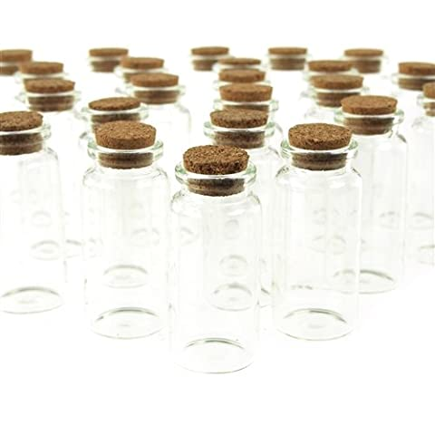 Firefly Imports FCF000004040 Mini Corked Jar Bottles, 2-1/4