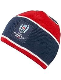28d8cfea046 RWC 2019 Japan Stripe Rugby Beanie Hat [Navy/red/White]
