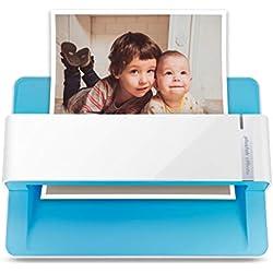 Plustek ePhoto Z300 : Scanner de Photos et Documents, scanne 4x6 Photo en 2 Secondes, avec recadrage Automatique et redressement, utilise des capteurs CCD. Fonctionne sur Mac et PC