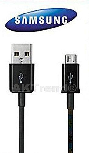 ro Usb 2.0 Ladekabel Datenkabel Für Samsung Galaxy S2 /S3 / S4 / S5 / S6 / S6 Edge , Galaxy S5 , Note 4 / Note 3 in schwarz AK091, Angebot von AKTrend® (Samsung Handy Angebote)