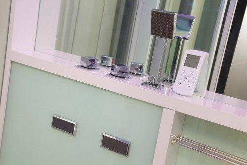 Home Deluxe White Luxory XL Duschtempel, inkl. Dampfsauna und komplettem Zubehör - 2
