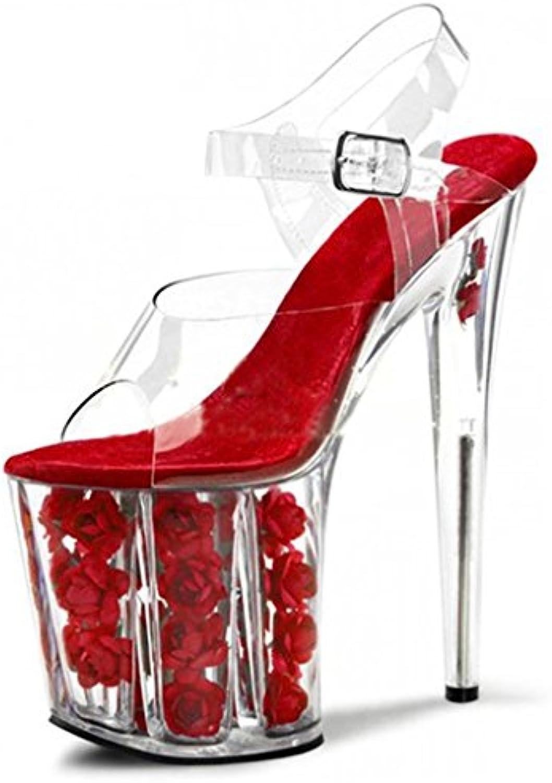Kitzen Mesdames Talon Haut Peep Toe    s D'été Plate-Forme Cheville Boucle StrappyB07FPSXVGHParent | Vogue  a55da3