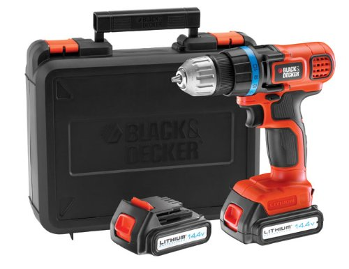 Black + Decker EGBL14KB Perceuse sans fil 14,4 volts Lithium