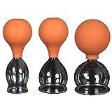 3er Schröpfglas-Set mit Ball 30-40-50mm zum professionellen