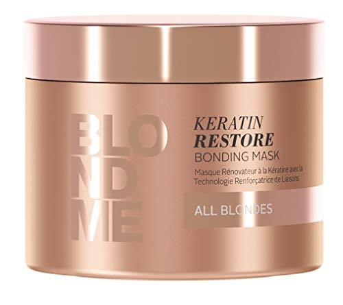 Schwarzkopf Professional Pflegekollektion Keratin Restore Blond Treatment, 200 ml, 1er Pack, (1x 1 Stück)
