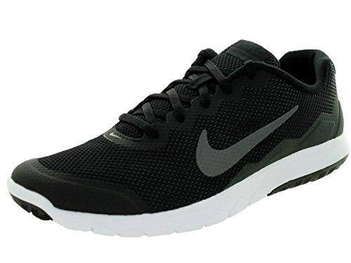 Nike Herren Flex Experience Rn 4 Laufschuhe Schwarz (Black/Metallic Dark Grey-Anthracit-White)