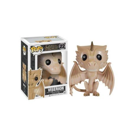 Funko Figurine Game of Throne Viserion Gold Edition, 0849803038120, 10...