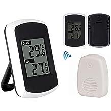 Tutoy Ts-Ft004-B Digtal Clima Ambiente Termómetro Inalámbrico De Interior Al Aire Libre Tester De Temperatura