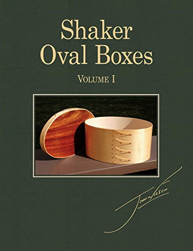 Shaker Oval Boxes Vol.1 (English Edition) - Ovale Shaker