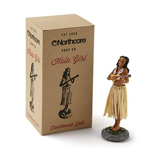 Northcore Hawaiian Hula Dashboard doll -