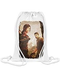 d76305476029c2 Der Letzte von uns Remastered Joel Und Ellie - The Last of Us Remastered  Joel And Ellie Custom Printed Drawstring…