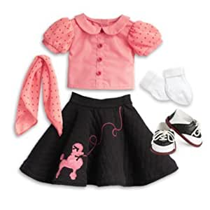 American Girl - Beforever Maryellen - Maryellen's Poodle Skirt Outfit for Dolls by American Girl