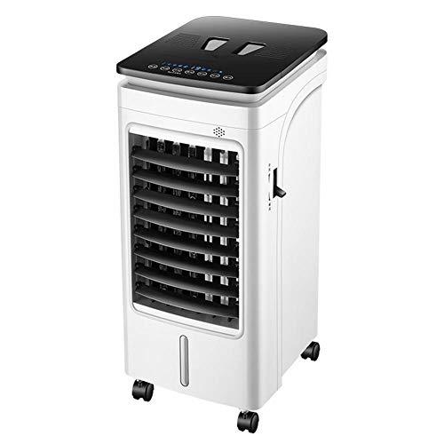 Dpliu Ventilador de Aire Acondicionado hogar pequeño Ventilador frío humidificador Aire Acondicionado Ventilador Enfriador de Aire@Control Remoto de calefacción y refrigeración RFS-06RA