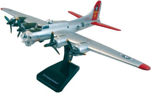 InAir E-Z Build B-17 Flying Fortress Model Kit (Red) (Model B 17 Kit)