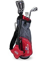 "US Kids Golf Ultralight Series Set 39"", US Kids Golf Ultralight Series Set 39"", 96cm - 103cm, Age 3-5 years, golf clubs for kids, Golfschläger für Kinder, Fairway Driver, Iron/Eisen 7, Putter, Bag, maximum distance and control, soft feel, lightweight, stainless steel"