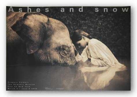 girl-with-elephant-von-gregory-colbert-kunstdruck