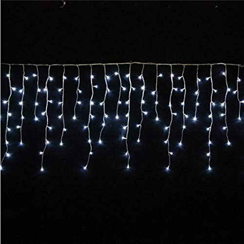 Decorative Lights Garland Curtains Icicle String Lights Indoor Floor Garden Stage Outdoor D - Outdoor Icicle