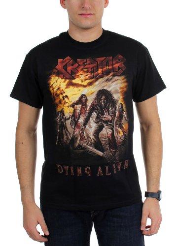Kreator - - T-Shirt alevros morirai vivente nero Large
