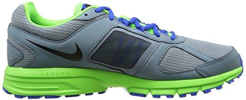 Nike Air Relentless 3 MSL Scarpe sportive, Uomo AVTR GRY/BLK-ELCTRC GRN-HYPR C
