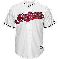 Majestic Cleveland Indians Cool Base MLB Trikot Home
