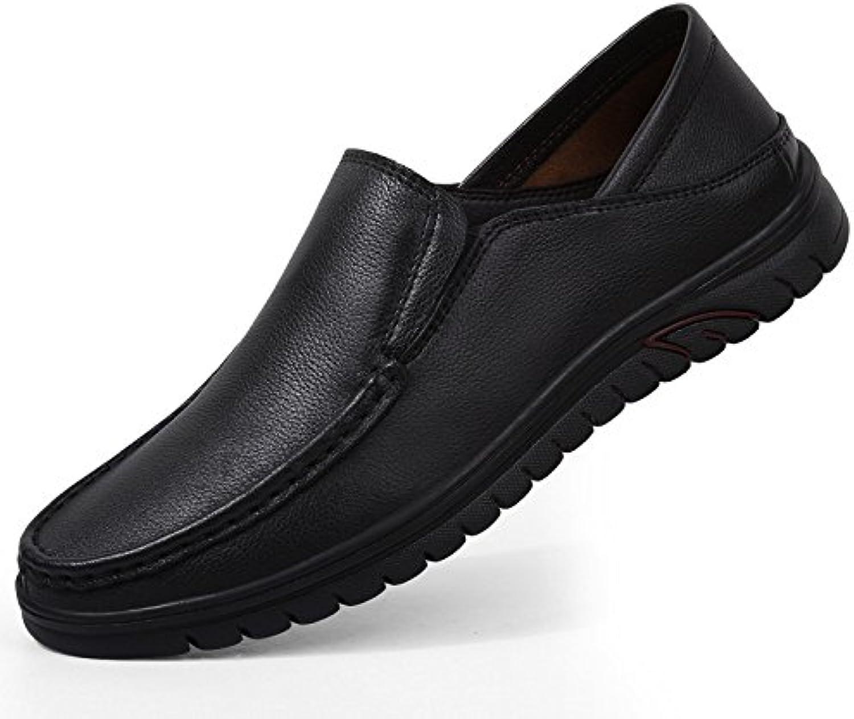 Verano Hombres Zapatos Huecos Transpirable Casual De Negocios De Encaje Zapatos De Tacón Sandalias