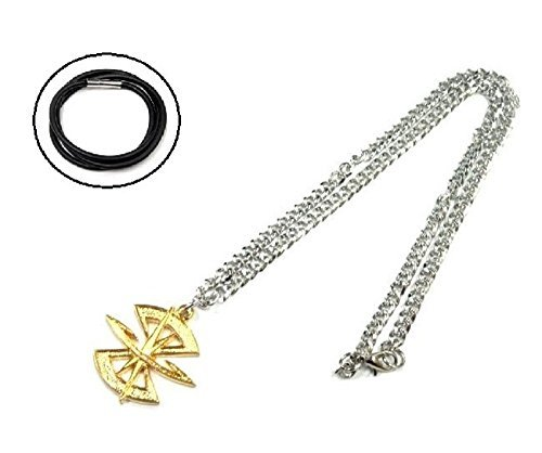 Fan-prop (Rope chain with a (seed Destiny) costume accessory accessories cosplay props fan goods, items top scratch resistant Mobile Suit Gundam SEED Union vs.ZAFT ZAFT military emblem mark motif necklace MOBILE SUIT GUNDAM SEED DESTINY ZAFT military [necklace] (japan import))