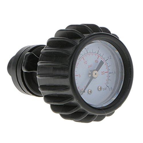 MagiDeal Bootsport Druckmesser / Aufblasbare Boote Luftdruckmesser / Schlauchboot Manometer