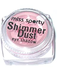 Miss Sporty by Coty Shimmer Dust Loose Powder Eyeshadow ~ 005 Enchant ~ Pale Pink Eye Shadow by Miss Sporty