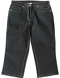 adonia mode Stretch Jeans Bermuda 7/8 Stiefelhose , Gr. 40 - 58