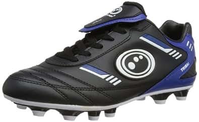 Optimum Mens Tribal Moulded Rugby Boots RBTMSBBS7 Black/Blue 7 UK, 40 EU