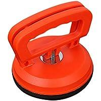 Kurphy Super plástico Ventosa de Vidrio Ventosa Manija Tirador Levantador Eliminador de abolladuras para Vidrio Antiestático Azulejo de Piso Ventosa